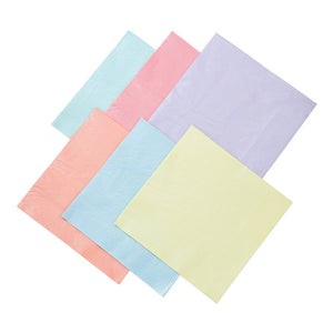 We Heart Pastels Multicolored Napkins