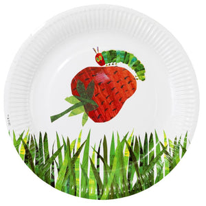 Talking Tables the very hungry caterpillar paper plate x 2 designs pk12