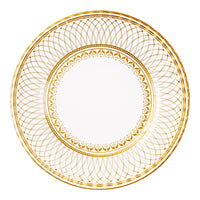 Party Porcelain Gold Large Plate