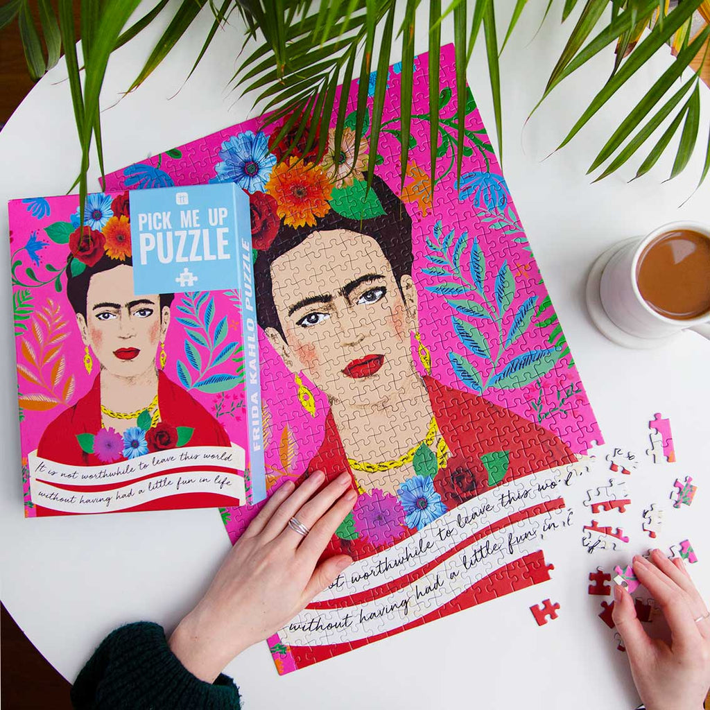 Pick Me Up Puzzle Frida Kahlo 500 Pieces