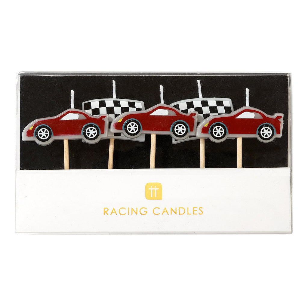 Party Racer Candles - Talking Tables US Public