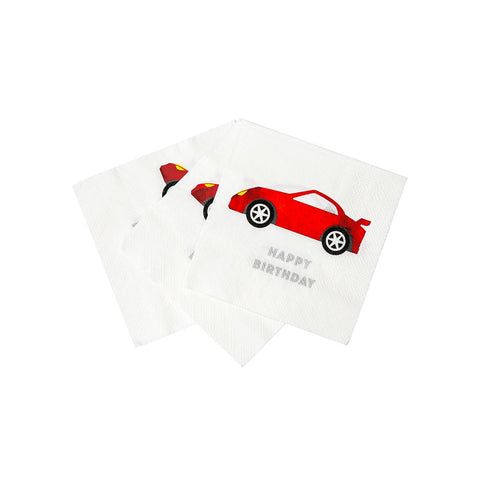 Party Racer Napkins - Talking Tables US Public