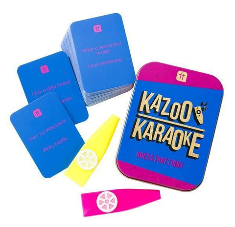 Kazoo Karaoke in a Tin - Talking Tables US Public