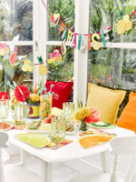 Talking Tables tropical fiesta double fruit garland