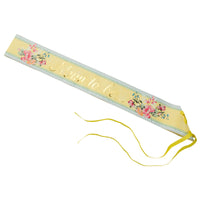 Talking Tables truly scrumptious baby sash