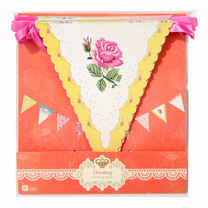 Talking Tables Truly Scrumptious Floral Bunting