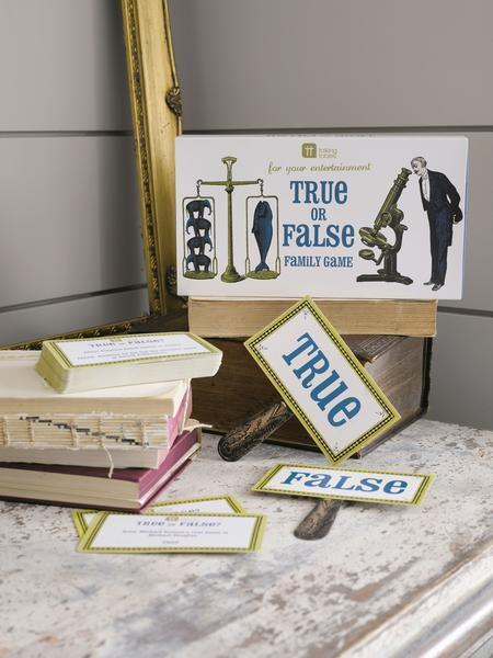 High Jinks True of False Game
