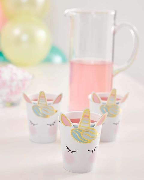 Talking Tables we heart unicorns face cups