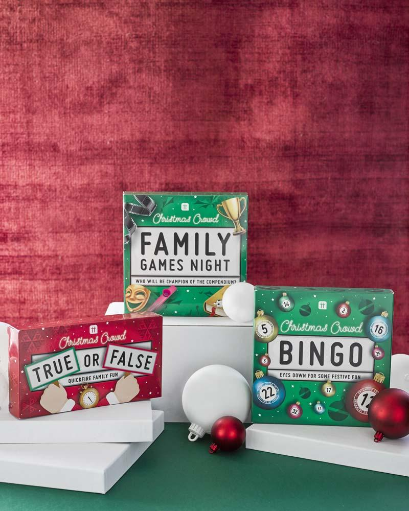 Christmas Entertainment Family Trivia Game - Talking Tables US Public