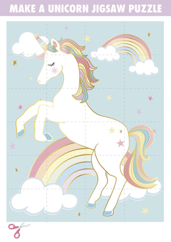 Printable - We Heart Unicorn - Talking Tables US Public