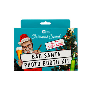 Christmas Entertainment Bad Santa Photo Booth Kit