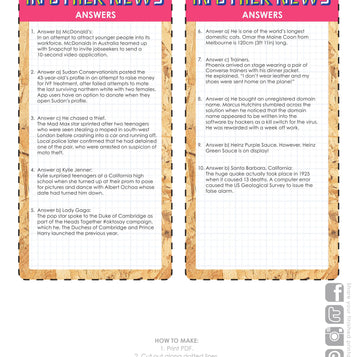 Printable - Quirky Pub Quiz - Talking Tables EU Public