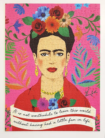 Pick Me Up Jigsaw Puzzle Frida Kahlo 500 pieces - Talking Tables EU Public