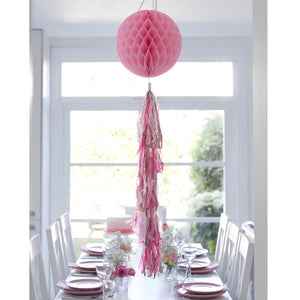 Talking Tables Decadent Decs Honeycomb Tasseled Decoration