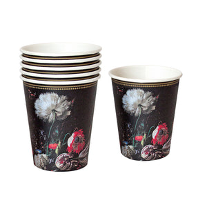 Party Porcelain Baroque Paper Cups