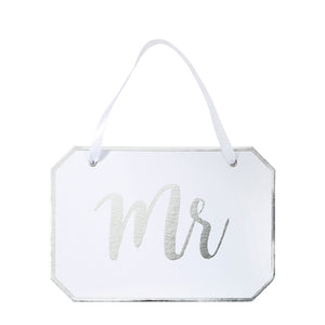 Modern Romance 'Mr' Decorative Sign