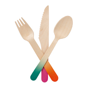 Talking Tables Tropical Fiesta Cutlery