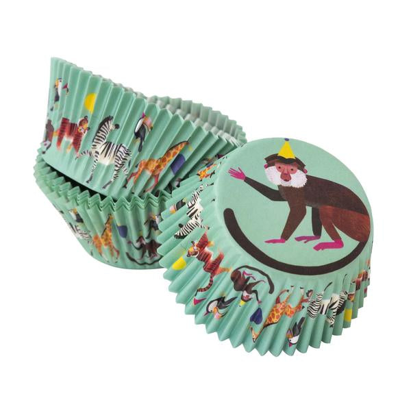Talking Tables Party Animals Cupcake Cases