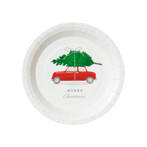 Botanical Car Plate Small
