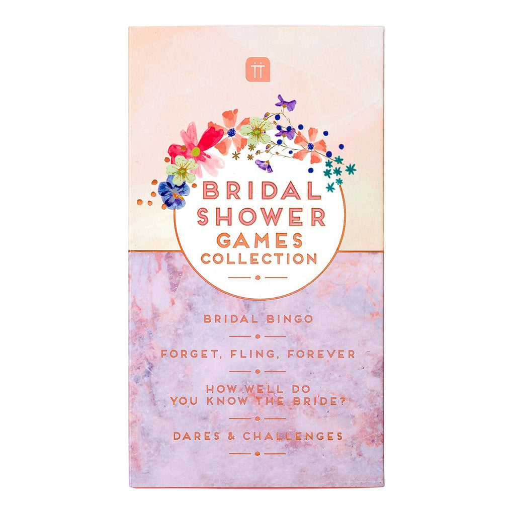 Blossom Bride Bridal Shower Games Collection - Talking Tables EU Public