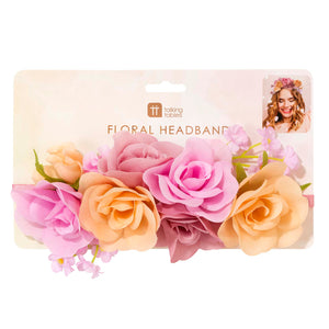 Blossom Girls Floral Headband