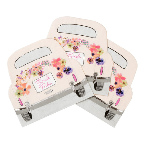 Blossom Bride Car Shaped Napkins - Talking Tables EU Public