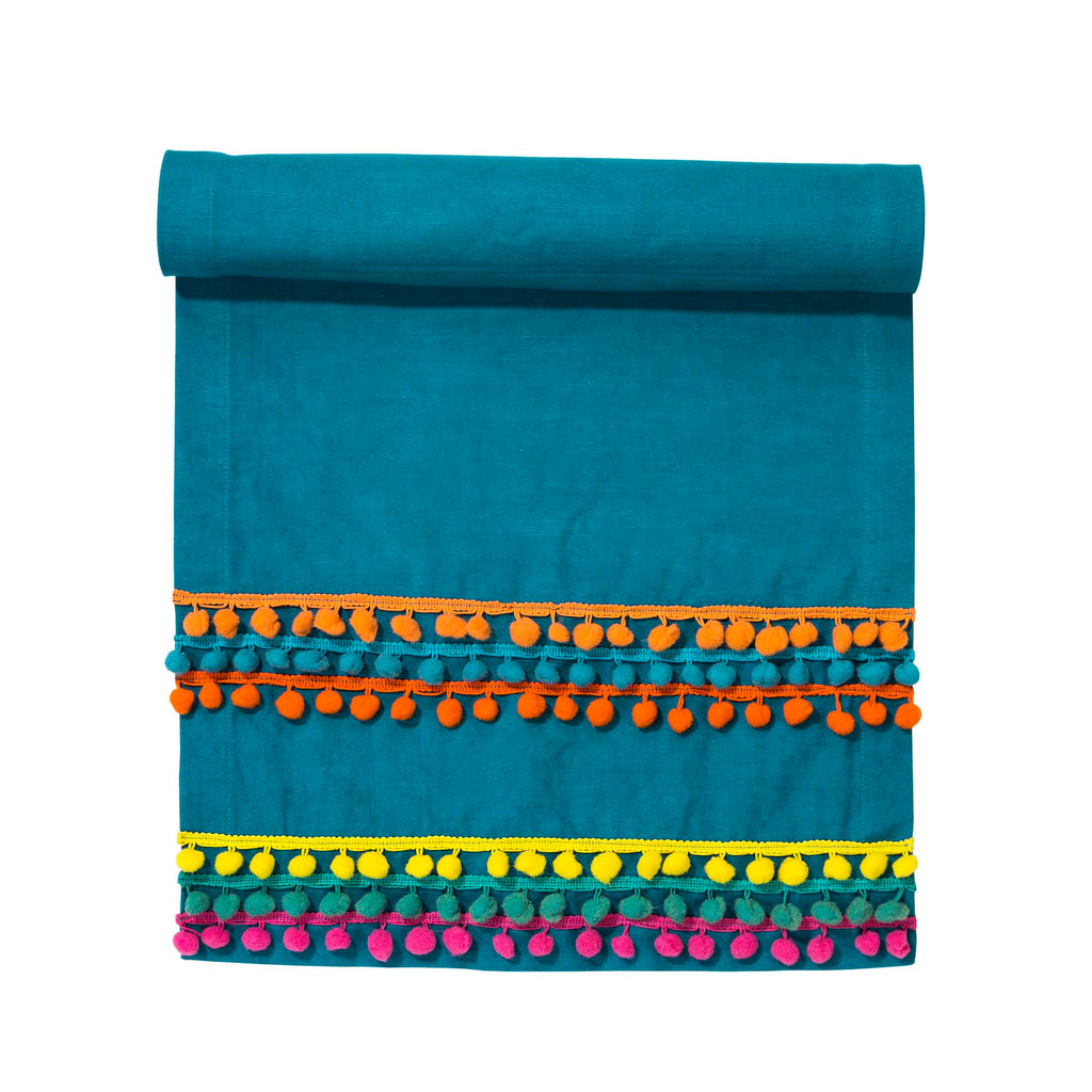 Talking Tables Global Gathering Fabric Table Runner