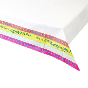 Colourful Boho Paper Table Cover