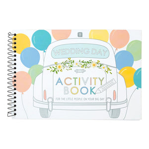 Boho Bride Activity Book - Talking Tables EU Public