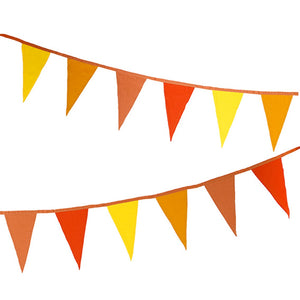 Boho Spice Fabric Bunting - Talking Tables EU Public