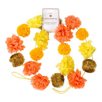 Boho Spice Pom Pom Garland - Talking Tables EU Public