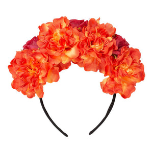 Boho Spice Flower Headband