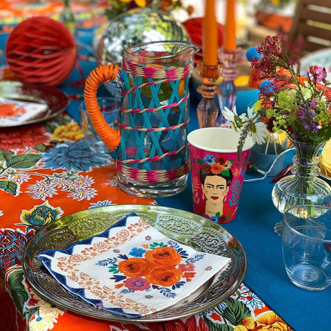 Boho Spice Floral Napkins - Talking Tables EU Public