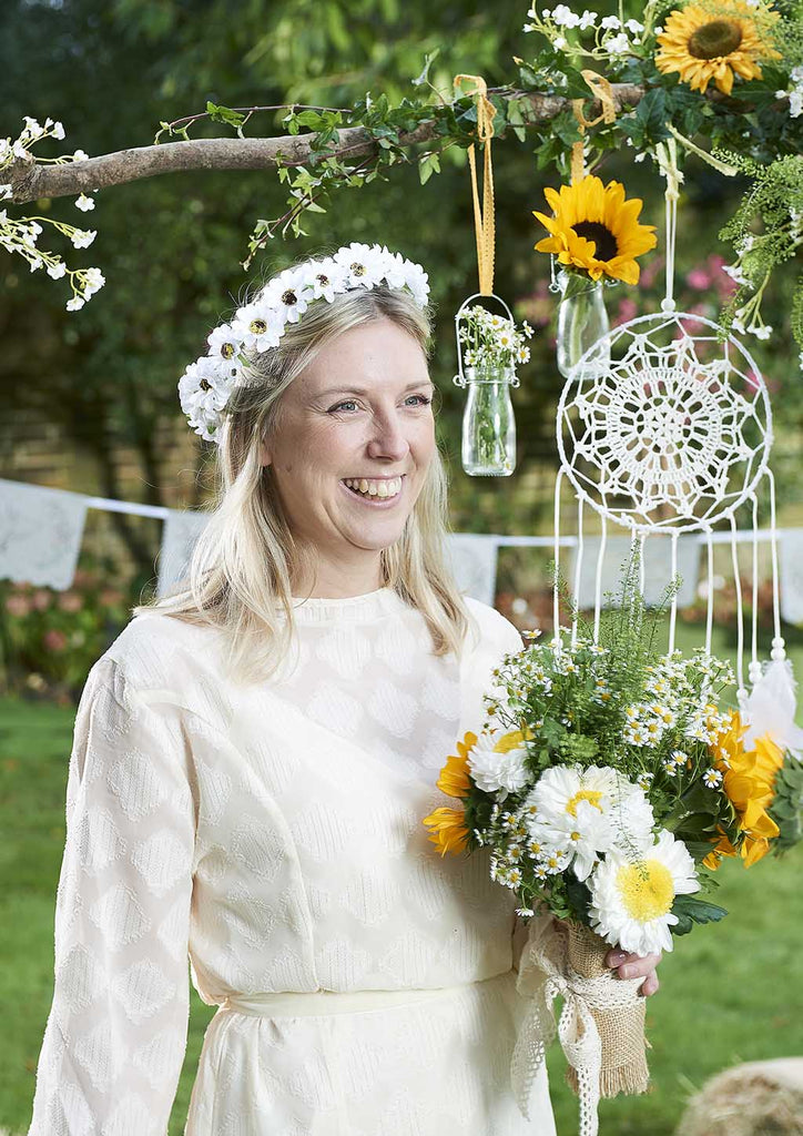 Boho Bride Light Up Flower Crown - Talking Tables EU Public