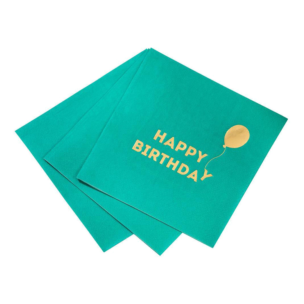 Bright Happy Birthday Napkin
