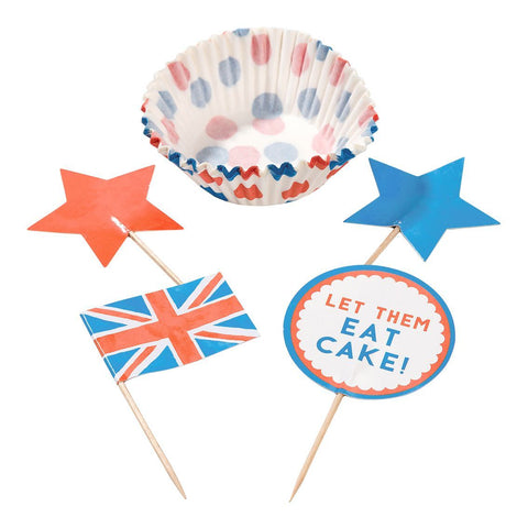 Best of British Cupcake Set - Talking Tables EU Public