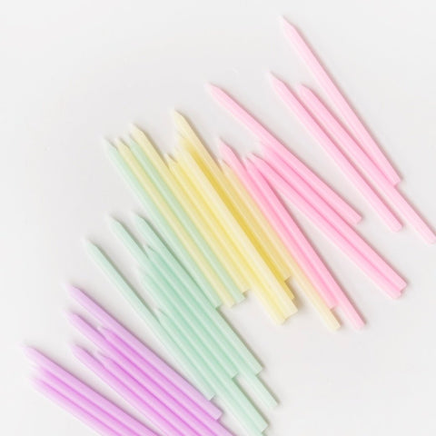 We Heart Pastel Candles