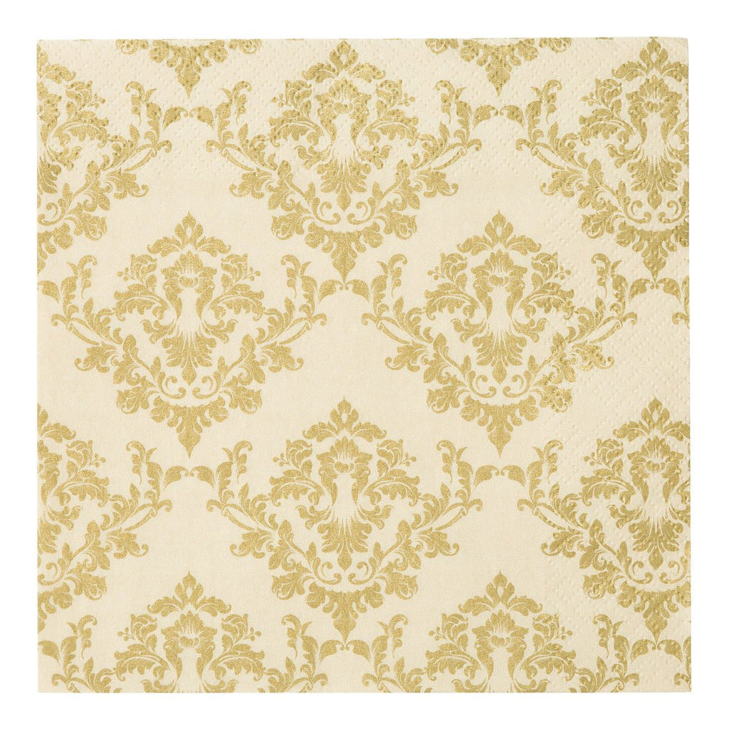 Damask Gold Napkin - Talking Tables EU Public