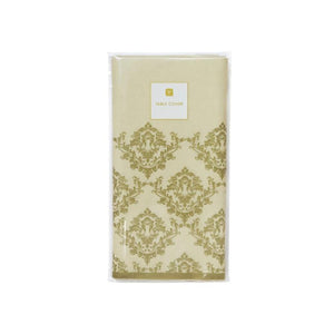 Talking Tables Damask Gold Table Cover