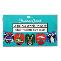 Christmas Entertainment Ugly Xmas Jumper Garland