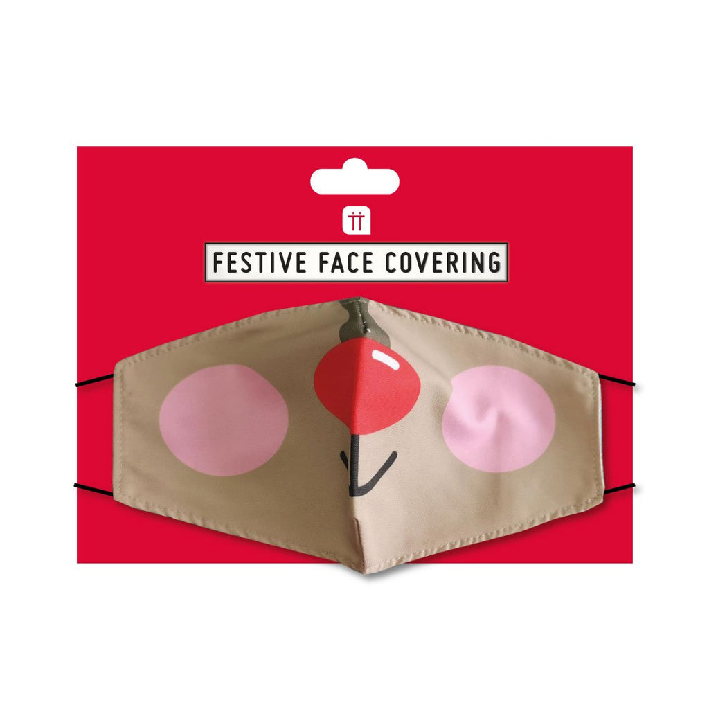 Christmas Entertainment Reindeer Face Mask - Talking Tables EU Public