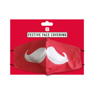 Christmas Entertainment Santa Face Mask - Talking Tables EU Public