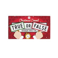Talking Tables Christmas Entertainment True or False
