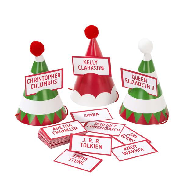 Talking Tables Christmas Entertainment Mini Party Hats & Game