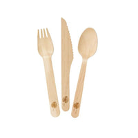 Talking Tables Fiesta Wooden Cutlery