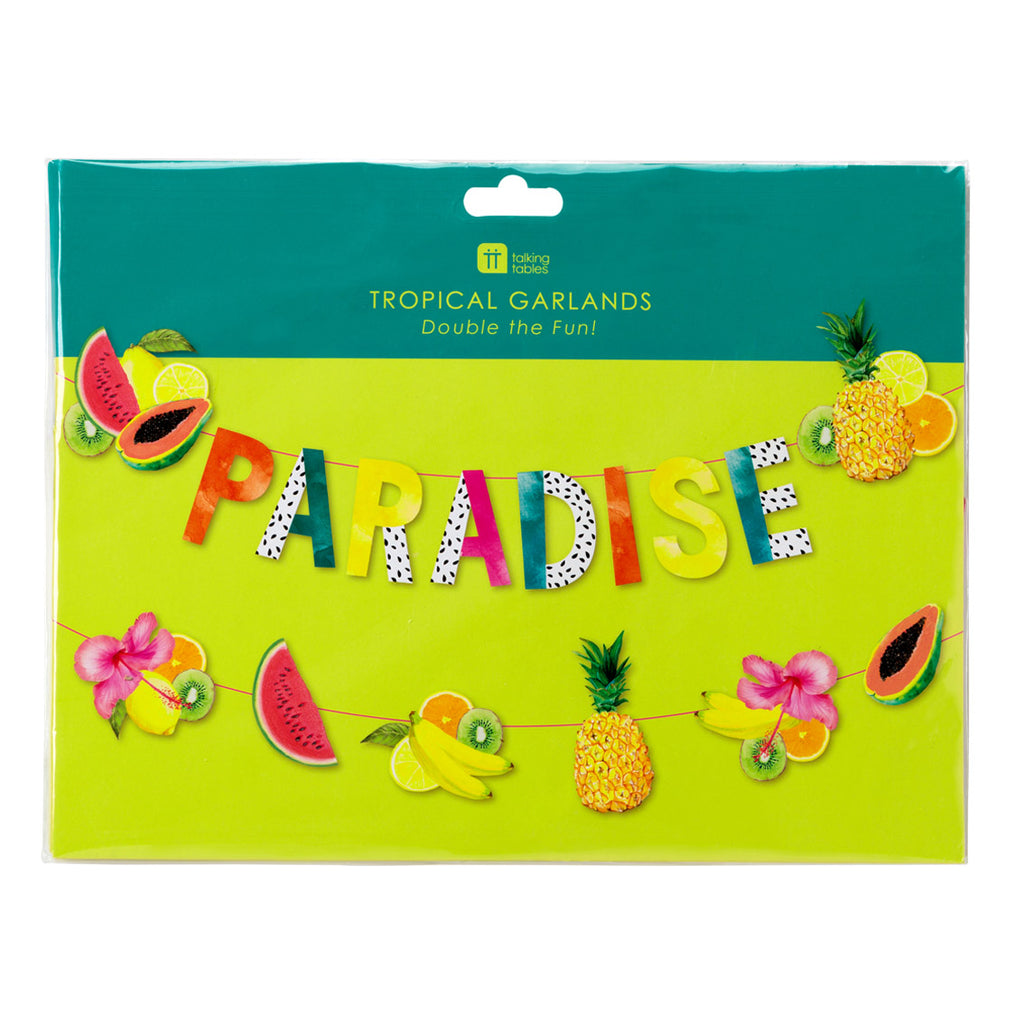Tropical Fiesta Double Fruit Garland