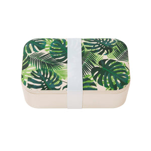 Tropical Fiesta Palm Print Lunch Box