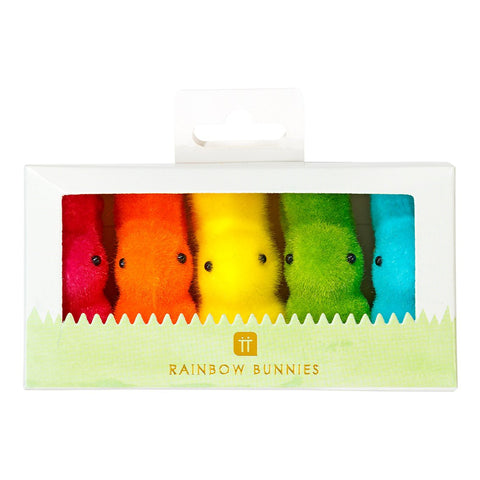 Hop Over The Rainbow Mini Bunnies