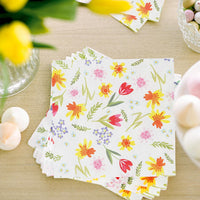Hop Over The Rainbow Floral Napkins