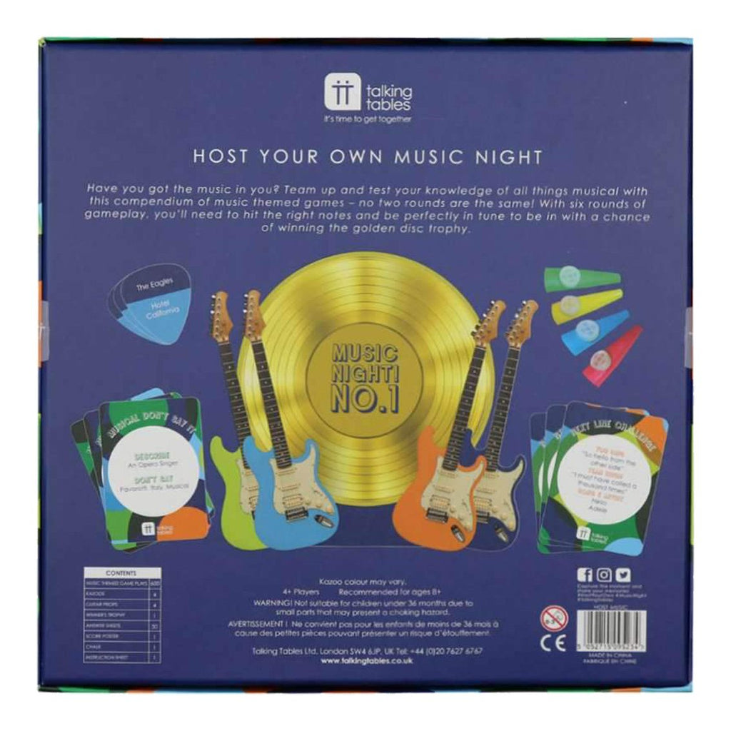 Host Your Own Music Night - Talking Tables EU Public